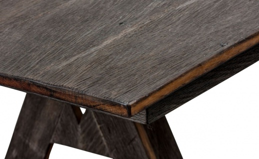 Casa Padrino Luxus Eisenholz Esstisch Dunkelbraun - Luxus Qualität - Vorschau 4