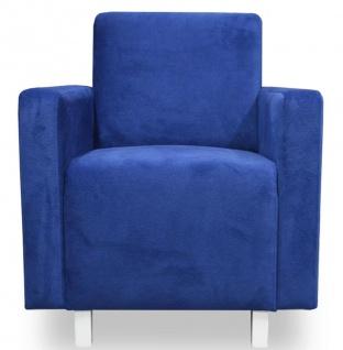 Casa Padrino Luxus Wohnzimmer Sessel 70 x 66 x H. 85 cm - Verschiedene Farben - Wohnzimmermöbel