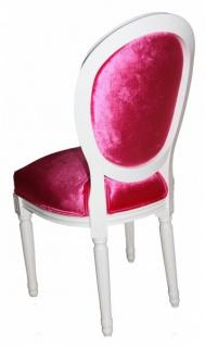 Casa Padrino Barock Esszimmer Stuhl Pink - Designer Stuhl - Luxus Qualität GH - Vorschau 2