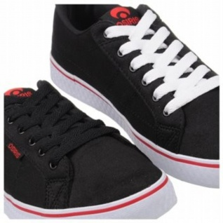 Osiris Skateboard Schuhe 45 Black/Red/White Hohe Qualität