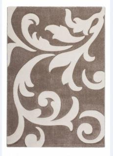 Casa Padrino Design Teppich Beige Elfenbein - Designer Teppich