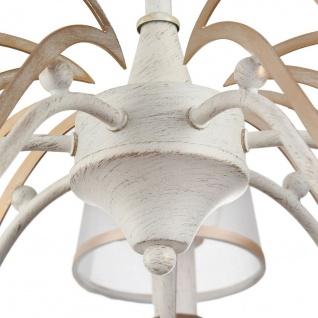 Casa Padrino Jugendstil Kronleuchter 5-Flammig Antik Weiß Ø 57 x H. 34 cm - Barock & Jugendstil Lüster - Vorschau 5