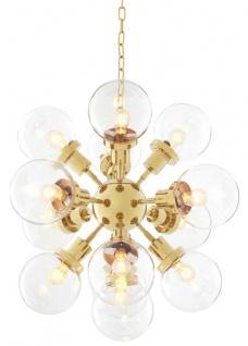 Casa Padrino Luxus Kronleuchter Gold 73 x H. 60 cm - Hotel Restaurant Möbel