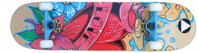 SkateLife Profi Skateboard Komplettboard 8.375 inch mit Venture Achsen - Special Edition mit KOSTON Kugellagern