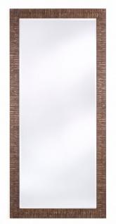 Casa Padrino Wohnzimmer Spiegel Bronze 85 x H. 185 cm - Luxus Accessoires