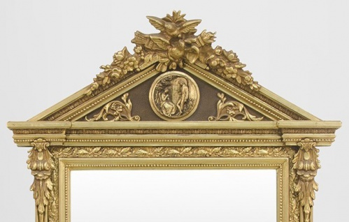 Casa Padrino Barock Wand Spiegel Gold H 204 cm B 113 cm - Edel & Prunkvoll - Vorschau 2