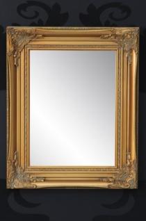Handgefertigter Barock Wandspiegel Gold Antik, Höhe 55 cm, Breite 45 cm, Tiefe 4 cm - Edel & Prunkvoll - Vorschau 2