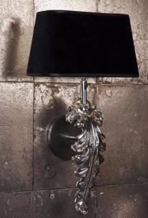 Casa Padrino Luxus Wandleuchte Nickel - Luxus Qualität - Vorschau 3