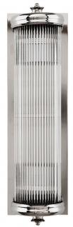 Casa Padrino Luxus Wohnzimmer Wandlampe Silber - Luxus Qualität