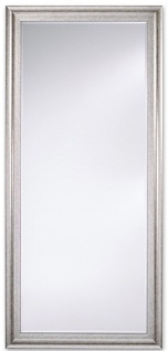 Casa Padrino Luxus Spiegel / Wandspiegel Antik Silber 57 x H. 147 cm - Deko Accessoires