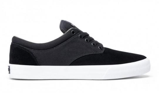 SUPRA Khaki Skateboard Schuhe Chino Black / Khaki SUPRA / White Beliebte Schuhe 0e3f0e