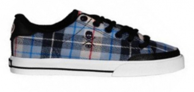 Circa Skateboard Kids Schuhe Lopez 50 Black / Blue Originals - C1rca Shoes