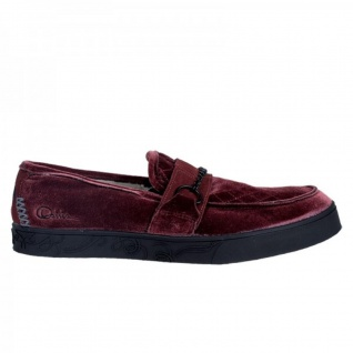 Osiris Skateboard Schuhe / Slip On Branson Burgundy/Black - Slipper / Slip Ons