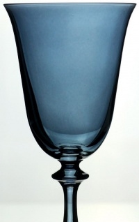 Casa Padrino Luxus Barock Weißweinglas 6er Set Blau Ø 8, 5 x H. 21 cm - Handgefertigte Weingläser - Hotel & Restaurant Accessoires - Luxus Qualität - Vorschau 2