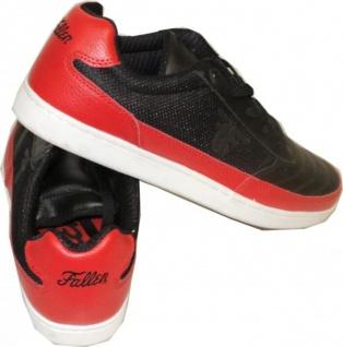 Fallen Skateboard Schuhe Pivot Schwarz/Rot