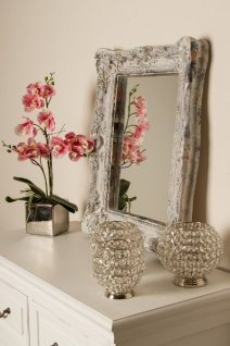 Casa Padrino Barockstil Spiegel Wandspiegel Antik Grau 42 X H 54