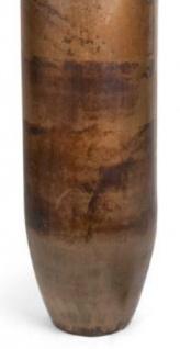 Casa Padrino Luxus Deko Aluminium Vase / Blumenvase Bronze Ø 20 x H. 76 cm - Wohnzimmer Dekoration - Vorschau 3