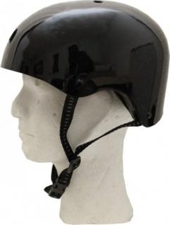 MySkatebrand Skateboard Helm Schwarz - Bmx, Inliner, Longboard Helm - Schutzausrüstung Skateboard Helm