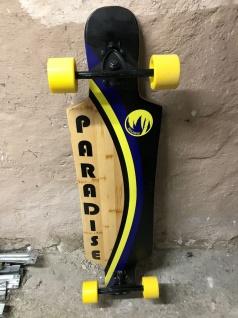 Paradise Longboard Bamboo Komplettboard - 1B Ware mit Lagerspuren