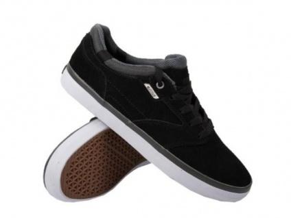 Etnies Skateboard Schuhe Freeport Black/White/Gum Hohe Qualität