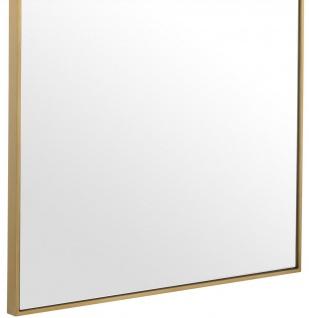 Casa Padrino Luxus Spiegel / Wandspiegel Messingfarben 90 x H. 180 cm - Garderobenspiegel - Wohnzimmer Spiegel - Luxus Qualität - Vorschau 3