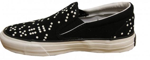 Converse Skateboard Schuhe Skidgrip Slip Ev Dice Black/White Slip Skidgrip On 53dabe