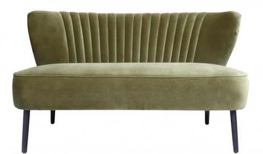 Casa Padrino Luxus Wohnzimmer Sofa Grün 129 x 75 x H. 73, 5 cm - Designer Möbel