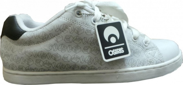 Osiris Skateboard Schuhe -- Troma II- White/ Odessey