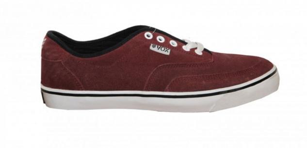 Vox Skateboard Schuhe Blender Bordeaux/ White 1 B Ware