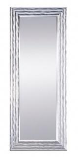 Casa Padrino Luxus Wohnzimmer Spiegel Silber 60 x H. 150 cm - Designermöbel