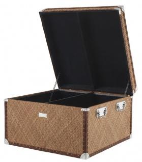Casa Padrino Luxus Couchtisch im vintage Koffer Design 85 x 85 x H. 51 cm - Designer Möbel - Vorschau 3