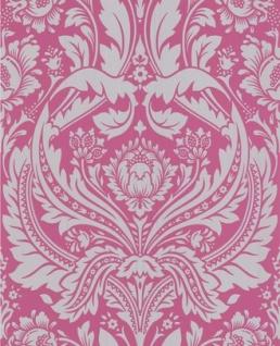 Graham & Brown Barock Tapete Desire 50-024 Pink / Silber - Vorschau 2