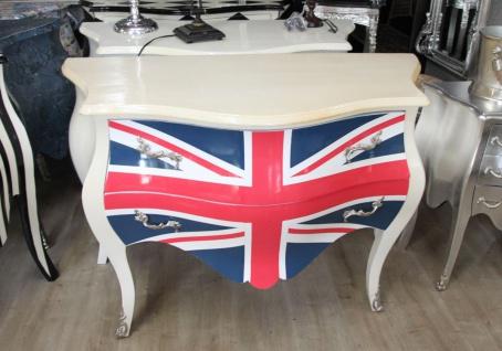 Barock Kommode Union Jack Antik Stil