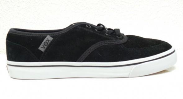 Vox Skateboard Schuhe ClassX Black/Black/White