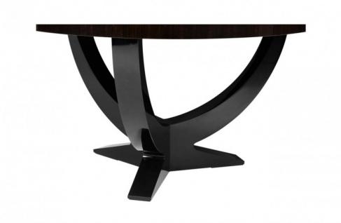 Casa Padrino Designer Luxus Mahagoni Esstisch 150 x H. 78 cm - Hotel Tisch Möbel - Vorschau 3