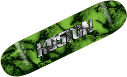 Koston Skateboard Deck Forest 8.0 x 32.125 inch