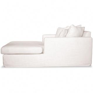 Casa Padrino Luxus Wohnzimmer Couch Weiss - Luxus Qualität - Schlafcouch