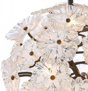 Casa Padrino Luxus Leuchte - Luxus Antik Messing Hängeleuchte Durchmesser 80 x H 80 cm - Vorschau 2