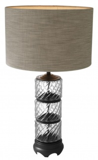 Casa Padrino Designer Tischleuchte / Tischlampe - Luxus Wohnzimmermöbel