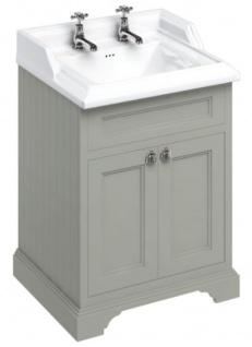 Casa Padrino Luxus Waschschrank 67 x 58 x H. 93 cm - Antik Stil Waschtisch