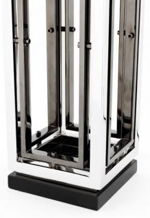Casa Padrino Luxus Tischleuchte Nickel Durchmesser 20 x 40 x H 96 cm - Leuchte - Tischleuchte - Vorschau 2
