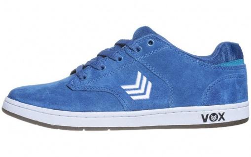 Vox Skateboard Schuhe Lockdown Royal Blue White White