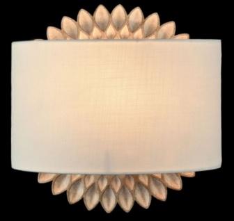 Casa Padrino Wandleuchte Creme Gold - Luxus Wandlampe