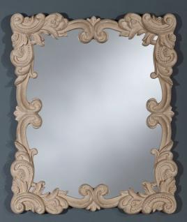 Casa Padrino Barock Wandspiegel Antik Stil Beige 50 x H. 60 cm - Barockstil Spiegel