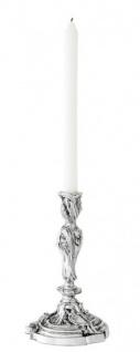 Casa Padrino Luxus Kerzenständer Antikstil Silber - Kerzenhalter - Vorschau 3