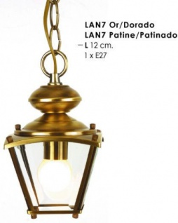 Casa Padrino Barock Pendelleuchte Gold - Metall Hängeleuchte - Nostalgische Leuchten