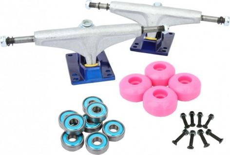 V-Truck Skateboard Set Mod3 - Achsen, Rollen, Kugellager, Schrauben