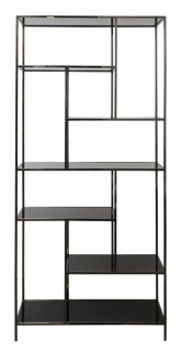 Casa Padrino Luxus Wohnzimmerschrank 98 x 35 x H. 210 cm - Designer Wohnzmimmermöbel - Vorschau 2
