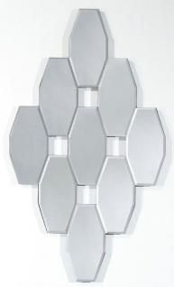 Casa Padrino Designer Wohnzimmer Spiegel / Wandspiegel 40 x H. 70 cm - Luxus Deko Accessoires