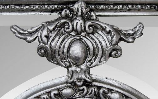 Casa Padrino Antik Stil Spiegel / Wandspiegel Silber 118 x H. 207 cm - Barock Wohnzimmer Möbel - Vorschau 5